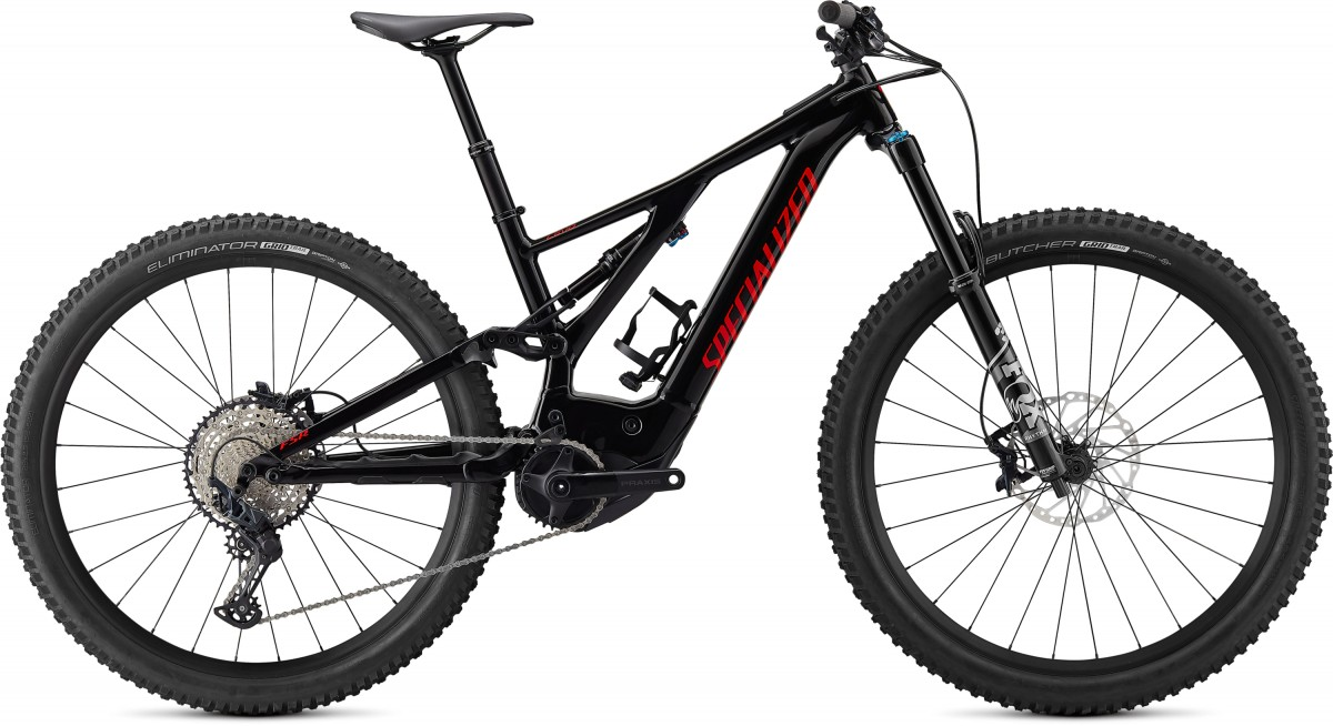 Specialized Levo Comp, Black/flo Red
